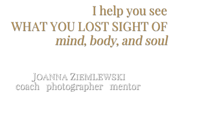 Joanna Ziemlewski coach photographer mentor